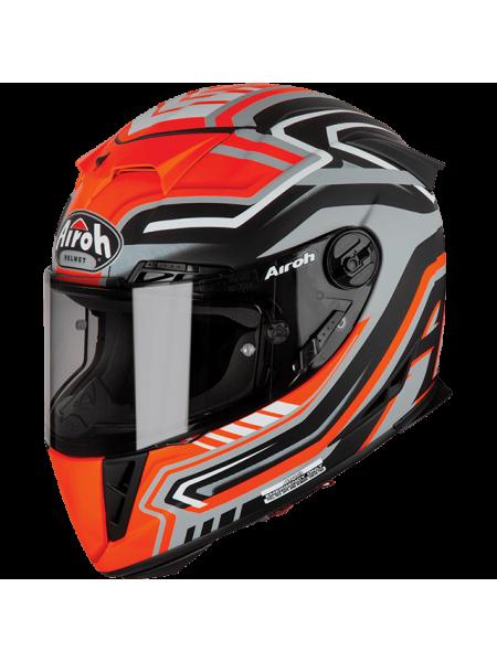 Шлем интеграл Airoh GP500 RIVAL ORANGE MATT