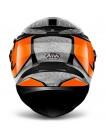 Шлем интеграл Airoh Movement-S Steel Orange Gloss