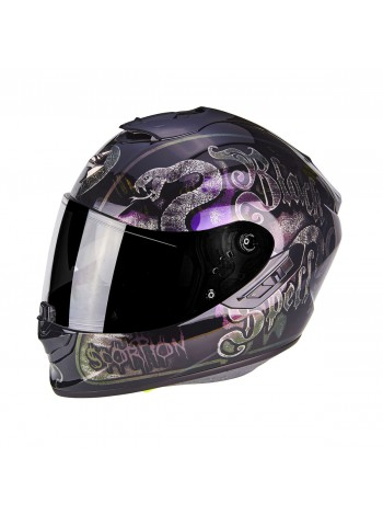 Шлем интеграл Scorpion EXO-1400 AIR BLACKSPELL