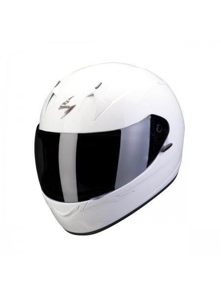 Шлем интеграл SCORPION EXO-390 White