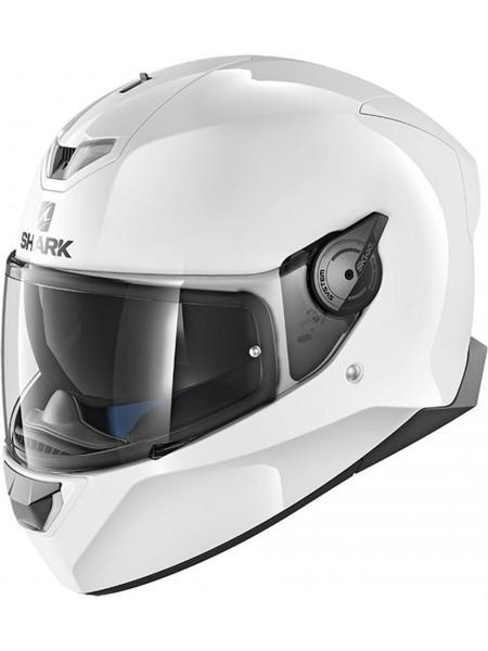 Шлем интеграл Shark SKWAL-2 BLANK White