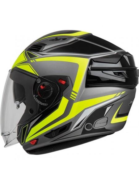 Шлем модуляр Airoh Executive Yellow Matt