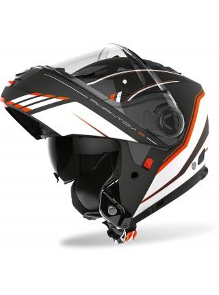 Шлем модуляр Airoh Phantom-S Beat Orange Matt