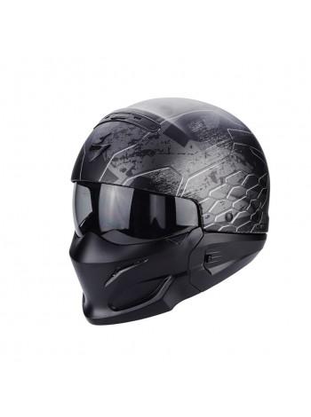 Шлем модуляр Scorpion EXO COMBAT Black