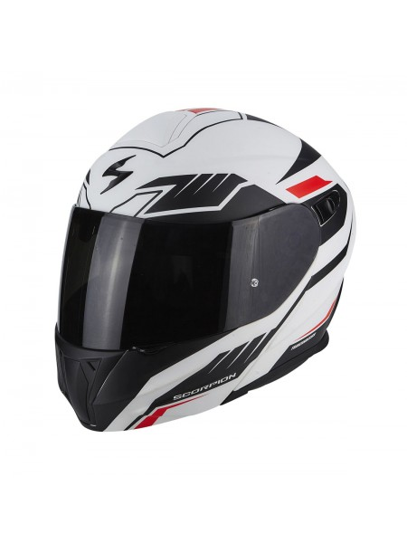 Шлем модуляр Scorpion EXO-920 SHUTTLE Black White