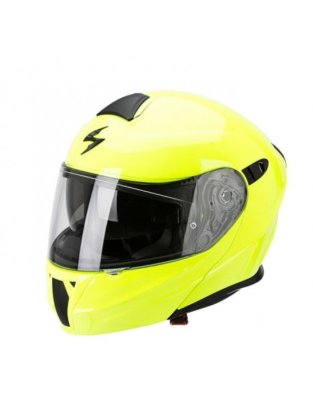 Шлем модуляр Scorpion EXO-920 Solid Yellow