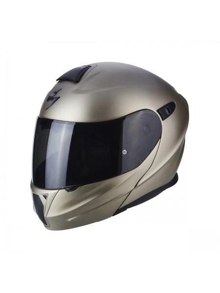 Шлем модуляр Scorpion EXO-920 Solid Титановый