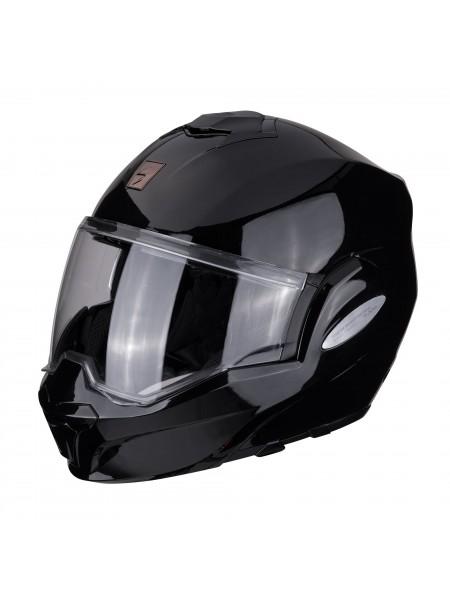 Шлем модуляр Scorpion EXO-TECH SOLID Black