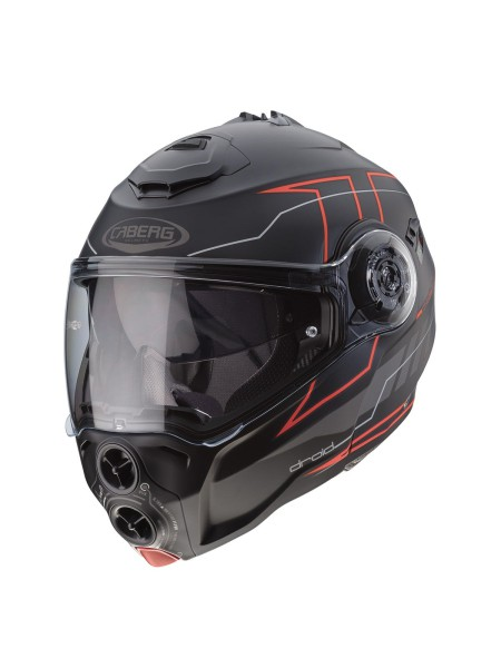 Модуляр Caberg DROID BLAZE Black red