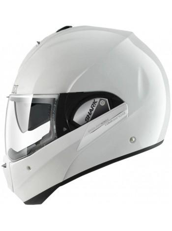Шлем модуляр SHARK EVOLINE III Blank WHU