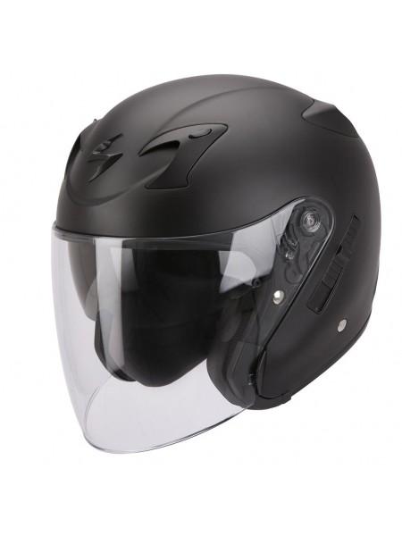 Шлем открытый Scorpion EXO-220 SOLID Черный матовый