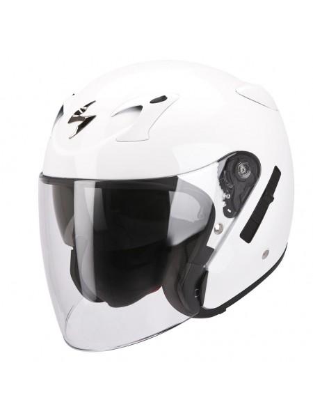Шлем открытый Scorpion EXO-220 SOLID Белый