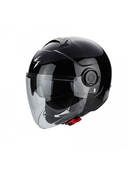 Шлем открытый SCORPION EXO CITY SOLID Черный
