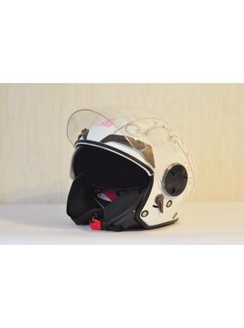 Шлем открытый THH T-314 ROYAL FLOWER
