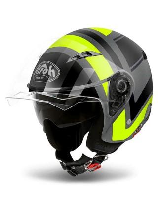 Открытый шлем Airoh City One Wrap Yellow