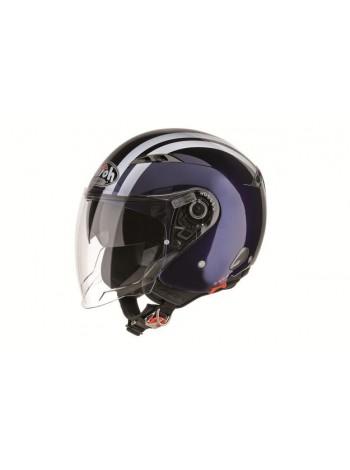 Открытый шлем Airoh City One Flash Blue