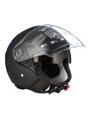 Открытый шлем Airoh City One Black Matt