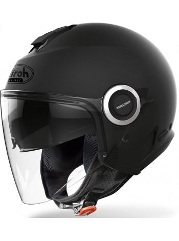 Открытый шлем Airoh Helios Color Black Matt