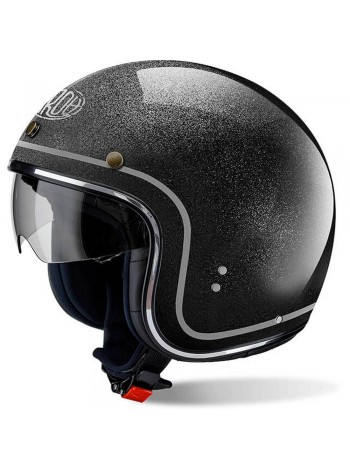 Открытый шлем Airoh Riot Color Glitter