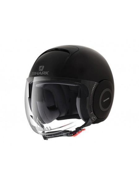 Шлем открытый SHARK MICRO Черный матовый