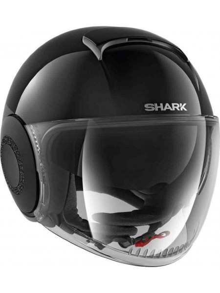Шлем открытый SHARK NANO CRYSTAL Черный