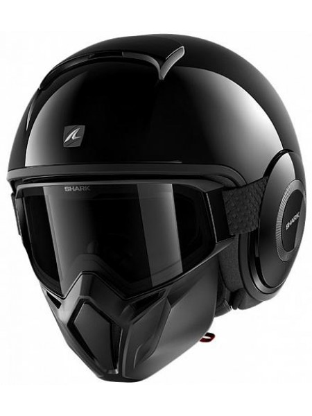Шлем открытый SHARK STREET DRAK Черный