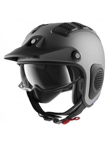 Шлем открытый SHARK X-DRAK Серый матовый