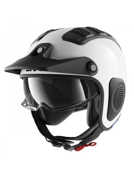 Шлем открытый SHARK X-DRAK Бело-черный