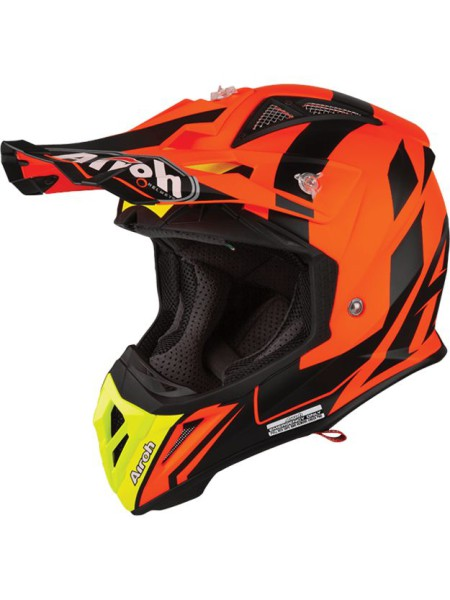 Шлем кроссовый Airoh Aviator 2.3 Bigger Orange
