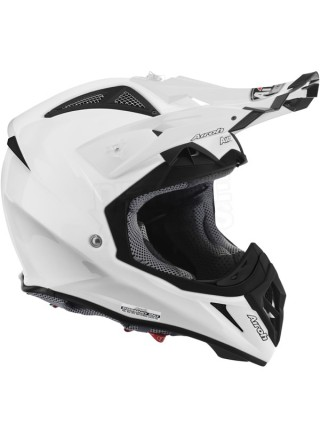 Шлем кроссовый Airoh Aviator 2.2 Color White Gloss