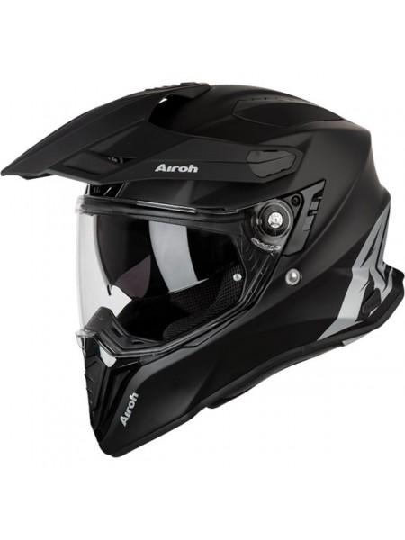 Шлем кроссовый Airoh Commander Color Black Matt