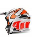 Шлем кроссовый Airoh Terminator Open Vision Shock Orange Gloss