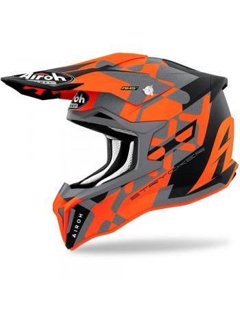 Шлем кроссовый Airoh Strycker XXX Orange Matt