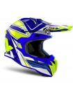 Шлем кроссовый Airoh Terminator Open Vision Shock Blue Gloss