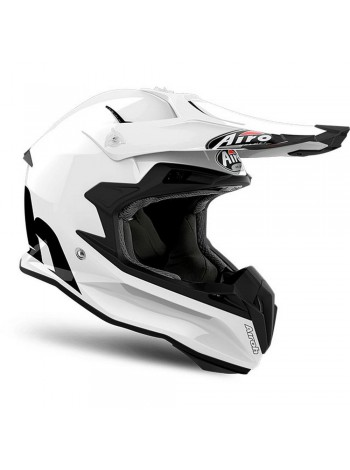 Шлем кроссовый Airoh Terminator Open Vision White Gloss