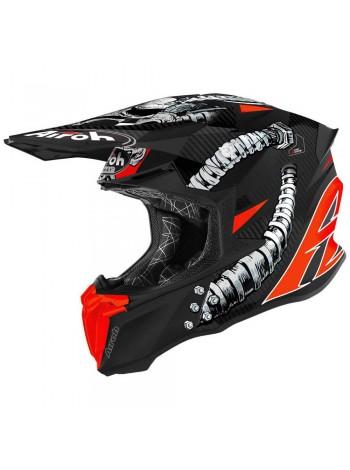Шлем кроссовый Airoh Twist 2.0 Bolt Matt