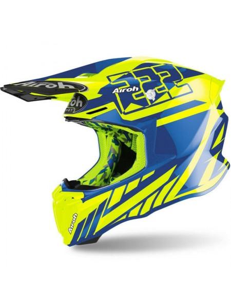 Шлем для кросса Airoh Twist 2.0 Cairoli 2020