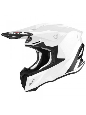 Шлем кроссовый Airoh Twist 2.0 Color White Gloss