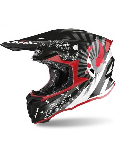 Шлем для кросса Airoh Twist 2.0 Katana Red Gloss