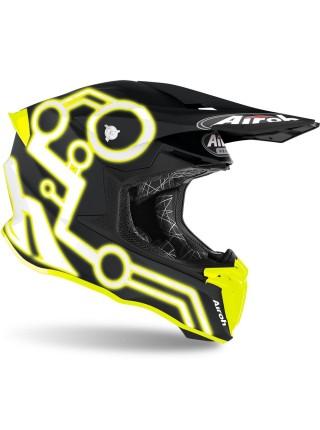 Шлем для кросса Airoh Twist 2.0 Neon Yellow Matt