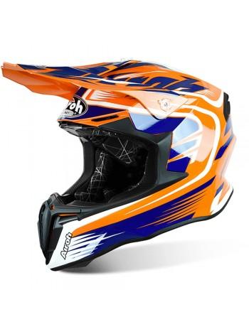 Шлем Airoh Twist Mix Orange Gloss
