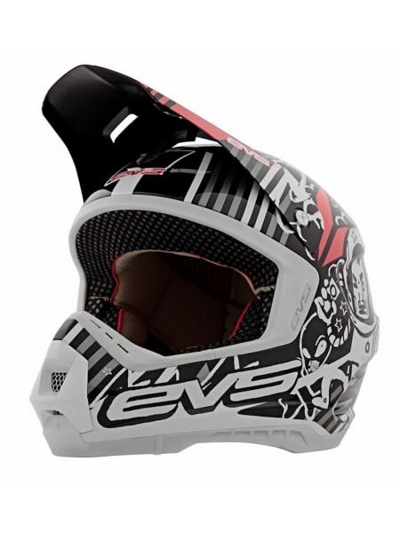 Шлем кроссовый EVS T5 Space Cowboy Black