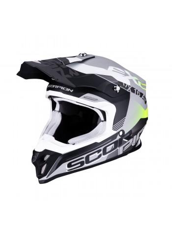 Scorpion EXO VX-16 ARHUS Серебристо-черный