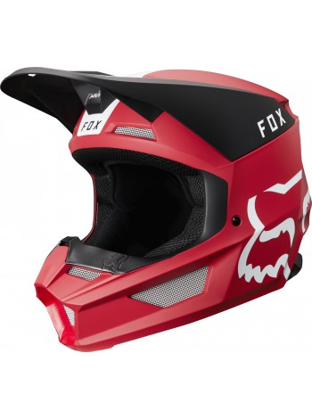 Кроссовый мотошлем Fox V1 Mata Cardinal