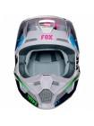 Кроссовый мотошлем Fox V1 Czar Light Grey