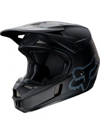Кроссовый детский шлем Fox V1 с эмблемой