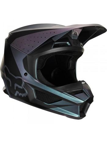 Кроссовый мотошлем Fox V1 Weld SE Black Iridium