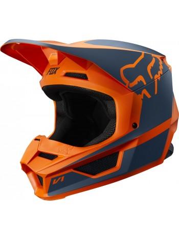 Кроссовый мотошлем Fox V1 Przm Orange