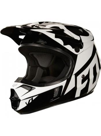Кроссовый детский мотошлем Fox V1 Race Black