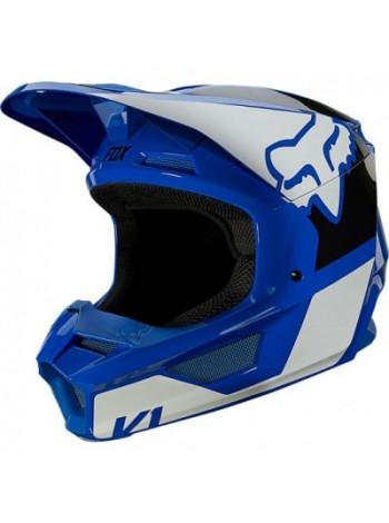Шлем кроссовый Fox V1 Revn Blue